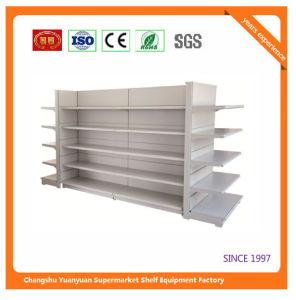 Plain Metal Gondola Supermarket Display Rack Shelf pictures & photos