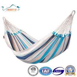 Colorful Parachute Canvas Fabric Travel Camping Hammock pictures & photos