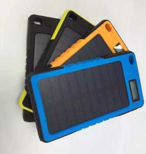 4000mAh Solar Charger Waterproof Portable Dual USB pictures & photos