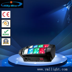 Professional Stage Disco DJ Wedding Party 8 Eye Sharpy LED Mini Spider Beam Light pictures & photos