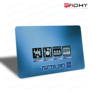 RFID Plastic ID Card with Tk4100 Chip pictures & photos