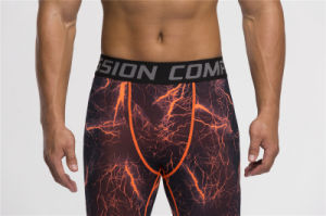 Compression Pants Leggings Fitness Jogging Trousers Tights Sports Wear (AK2015011) pictures & photos