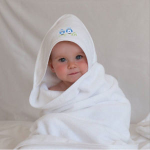 Children 100%Cotton White Waffle Bathrobe (DPH7427) pictures & photos