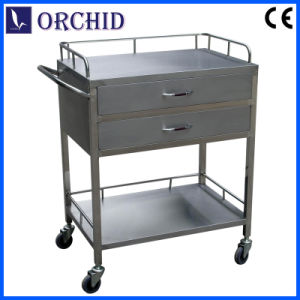 Stainless Steel Drug Delivery Cart (ST-IV)