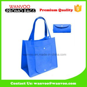 Wholesale Foldable Non Woven Shopping Bag pictures & photos