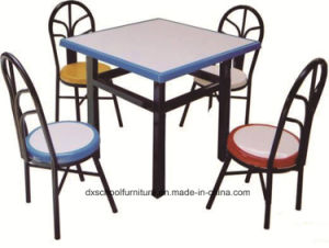 High Quality Dining Tabla and Chair for Canteen pictures & photos