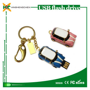 Car Shaped Custom Metal USB Flash Drive pictures & photos