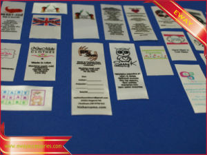 Factory Garment Printed Label Washing Care Printed Label pictures & photos