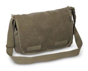 Olive Canvas Vintage Messenger Bag Men Sling Shoulder Bag Sh-16051041 pictures & photos