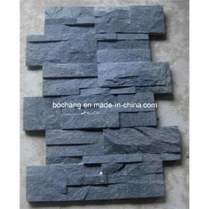 Black Quartz Slate for Wall Cladding, Rust Slate pictures & photos