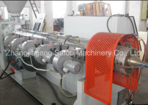 PP PE PVC Corrugated Tube Cutting Machine pictures & photos