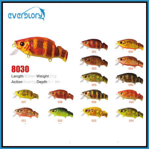 60mm/8.5g Surface Float Action Fishing Lure with Various Color pictures & photos