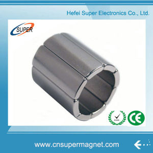 Factory Supply Custom Sintered Arc Permanent Magnet pictures & photos