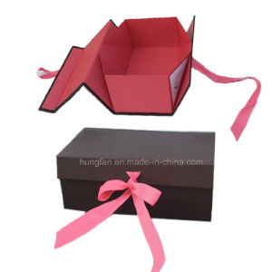 Shoes or Boot High Quality Folding Gift Box pictures & photos