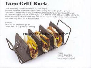 Non-Stick BBQ Taco Roast Rack pictures & photos