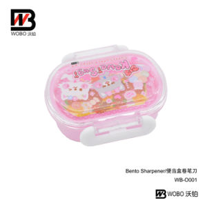 School Office Stationery Color Cartoon Plastic Pencil Sharpener pictures & photos