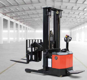1.2ton Mini Electric Reach Stacker for Sale (CQE12) pictures & photos