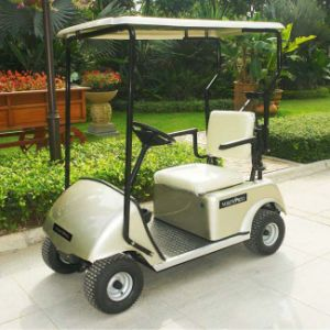 China Factory Offer 1 Seat Electric Golf Car with Ce Certificate Dg-C1 pictures & photos