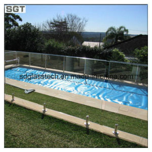 10mm 12mm Ultra Clear Tempered Safety Glass for Glass Pool Fencing pictures & photos
