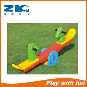 Animal Design Indoor Plastic Seesaw for Preschool pictures & photos