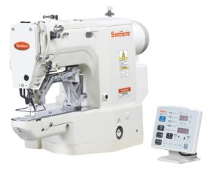 High Speed Direct Drive Electronic Bar-Tacking Sewing Machine pictures & photos