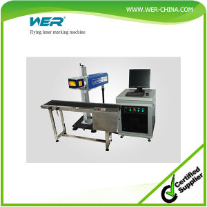 One Year Warranty Flying Laser Marking Machine pictures & photos