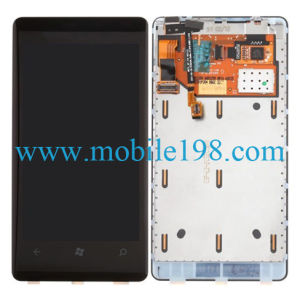 LCD and Digitizer Assembly with Frame for Nokia Lumia 800 pictures & photos