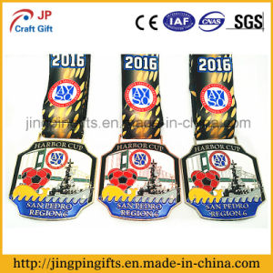 Customized Zinc Alloy Souvenir Award Sport Medal with Ribbon pictures & photos