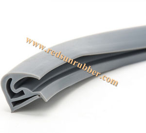 Custom Auto Silicone Rubber Extrusion pictures & photos