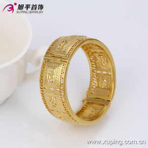 51350 Fashion Nice Design Elegant Big Wide Gold Jewelry in Copper Alloy pictures & photos