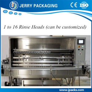 Full Automatic Linear Water Rinser for Washing Bottle pictures & photos