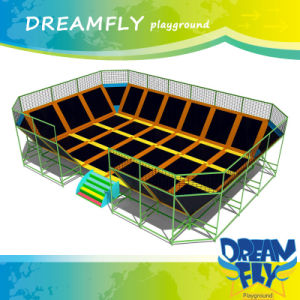 China Manufactory Indoor Playground Equipment Trampoline Park