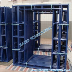 SGS Metal Walkthrough H Types of Frame System Scaffolding pictures & photos