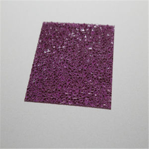 Embossed Polycarbonate Sheet for Decoration pictures & photos