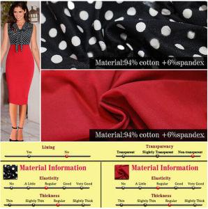 Women Knee-Length Dress MIDI Pencil Office Dress (Dress 116) pictures & photos