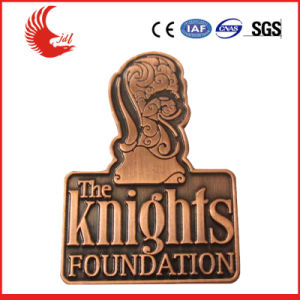 Hot Sale Customized Metal New Logo Badges pictures & photos