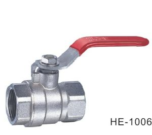 (HE1006--HE1007) Brass Ball Valve Pn16 with Level Handle for Water, Oil pictures & photos