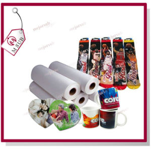 Low Weight 58GSM 63′′ White Sublimation Paper Roll pictures & photos