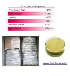 Amino Acid Organic Fertilizer: Humizone Amino Acid 45% (AA45-P) pictures & photos