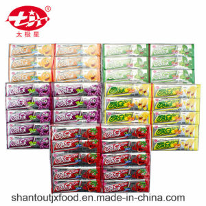 5 Flavour Kuwen Cardboard Tray Chewing Gum with Tattoo pictures & photos