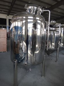 Stainless Steel 500 Gallon Glycol Jacket Conical Beer Equipment pictures & photos