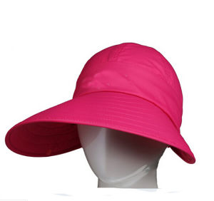 New Design Sport Sun-Shade Pink Golf Hat pictures & photos