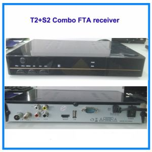 High Definition DVB-T2/S2 Combo FTA Receiver pictures & photos