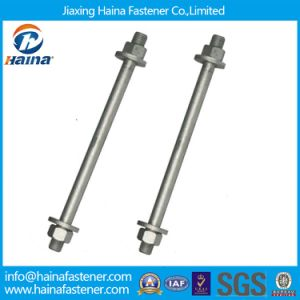 Carbon Steel HDG Double End Stud Bolts Fastener pictures & photos