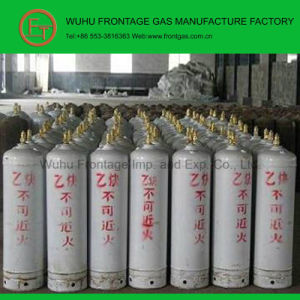 High Pressure Seamless Steel Cylinder Acetylene Gas (C2H2) pictures & photos