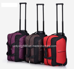 Big Capacity Wheeled Trolley Luggage Travel Sports Handbag Bag (CY3409) pictures & photos