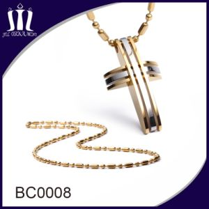 Wholesale Gold Colored Plated Ball Bead Chain Necklace pictures & photos