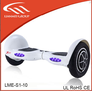 10inch Big Wheels Balance Scooter Hoverboard with Bluetooth pictures & photos
