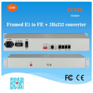 19inch E1 to Fe + 2 RS232 Protocol Converter
