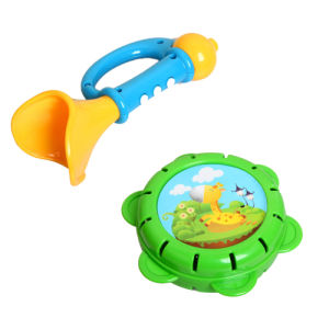Plastic Musical Drum Toys with Flash Light (H4646017) pictures & photos